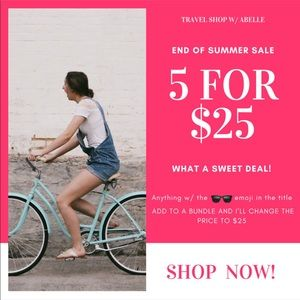 🕶 5 items for $25!